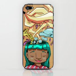 Overflowing thoughts  iPhone Skin
