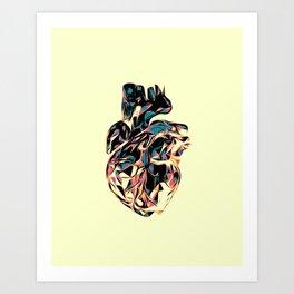 Heart Print #3 Art Print