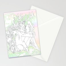 garden & antlers Stationery Cards