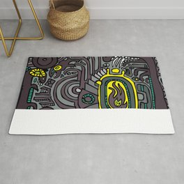 BELLY FIRE Rug