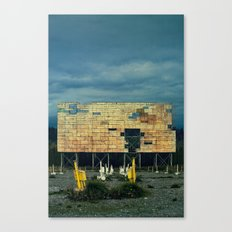 Drive-In Canvas Print