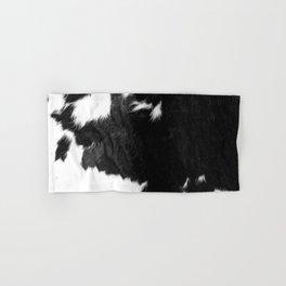 Modern Cowhide Hand & Bath Towel