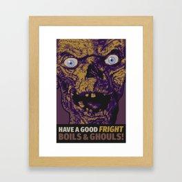 Boils & Ghouls Framed Art Print