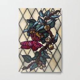 Moth Emergence Metal Print