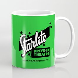 Starlite Drive In Green Coffee Mug