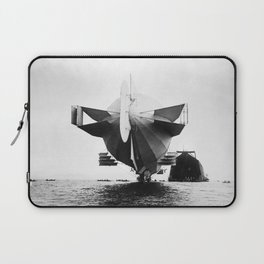 Stern of Zeppelin Airship - 1908 Laptop Sleeve