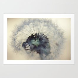 Macro World Art Print