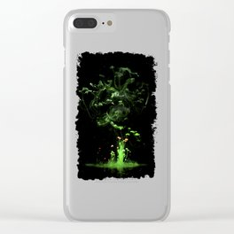 Magic tree Clear iPhone Case