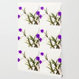 Purple Petunias Wallpaper