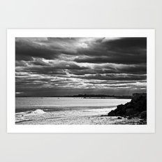 Dreary Waters Art Print