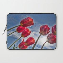 Tulips with Sun Star Laptop Sleeve