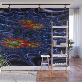 Brocaded Geyser Fractal Design 3 Wall Mural