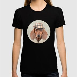 The stylish Mr Dachshund T-shirt