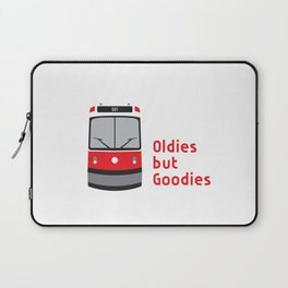 We #LOVE Old Streetcars Laptop Sleeve