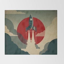The Voyage Throw Blanket