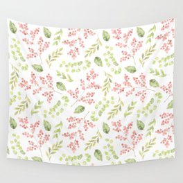 floral patter ( rowan ) Wall Tapestry