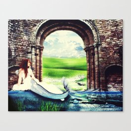 Beloved Bride Canvas Print