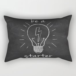 be a starter Rectangular Pillow