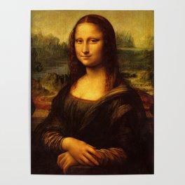Leonardo Da Vinci Mona Lisa Painting Poster