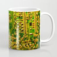 tv Mugs featuring Television by StevenARTify