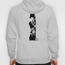 Chaplin and the kid - turquoise Hoody