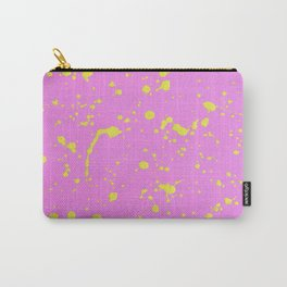 Paint Splash Design by Dominic Joyce Carry-All Pouch