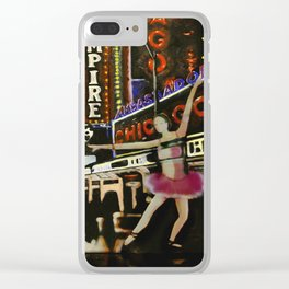 Summer in the City.3 Clear iPhone Case