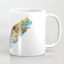 Colored Native Eagle Coffee Mug