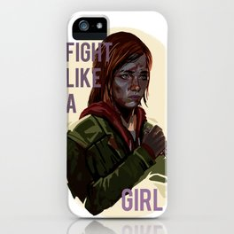 Ellie the last of us iPhone Case