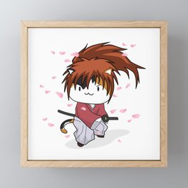 Kenshin Himeowra Framed Mini Art Print
