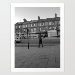 Man Walking Art Print