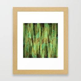 Greeny Dreams Framed Art Print