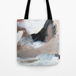 In the clouds. Tote Bag