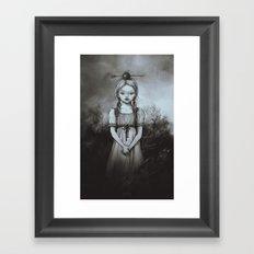 Raðljóst Framed Art Print