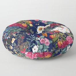 Midnight Garden VI Floor Pillow