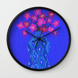 Floral 7 Wall Clock