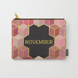Cubes Of November Carry-All Pouch