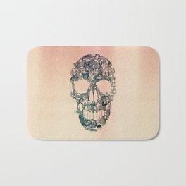 Skull Vintage Bath Mat
