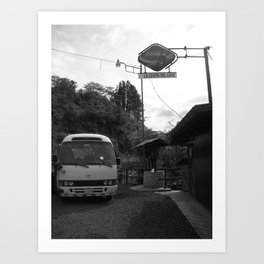 La Casita del Cafe Art Print
