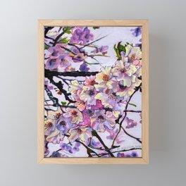 The Cherry Branch Framed Mini Art Print
