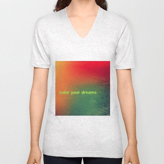 Color your dreams Unisex V-Neck