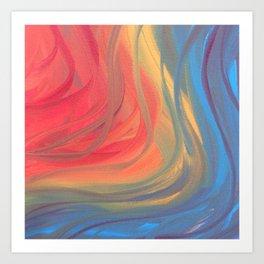Ribbons of Imagination Art Print