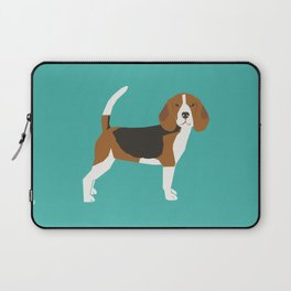 Beagle cute dog gifts pure breed must haves beagles Laptop Sleeve