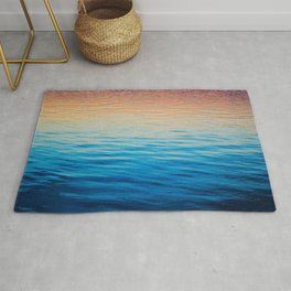 Colored Water Rug