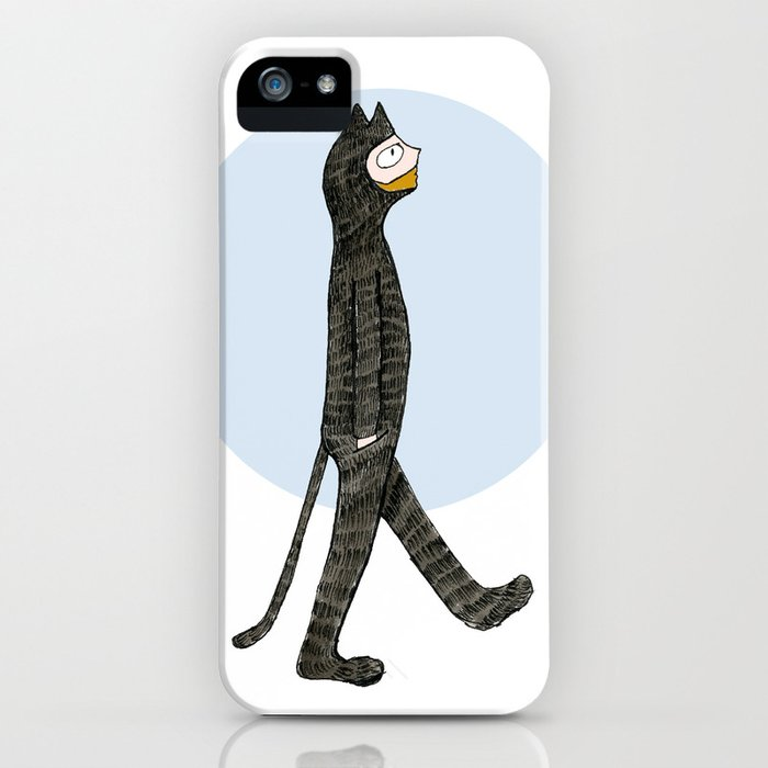 Cat Blues iPhone Case