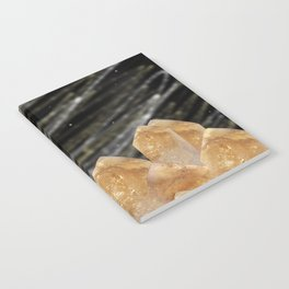 Mountains of citrine Notebook