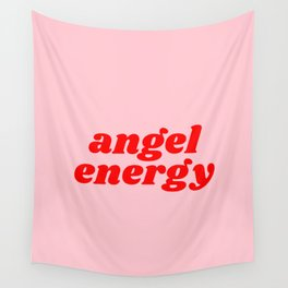 angel energy Wall Tapestry