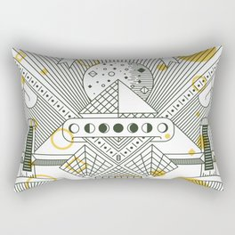 Moon's Arrival Rectangular Pillow