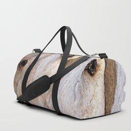 Eucalyptus Tree Bark and Wood Texture 14 Duffle Bag
