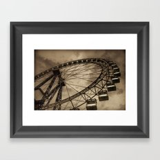 Eternal circle Framed Art Print
